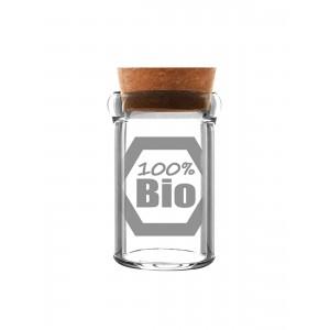 100% Bio - Weedjar Glasbehälter