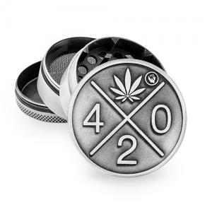 """Fire-Flow Metall Grinder """"420"""" 50 mm 4-teilig"""