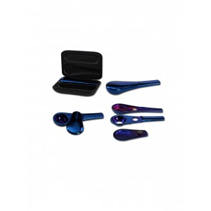 Black Leaf Magnetpfeife Jopi, blau