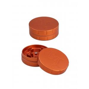 Black Leaf Grinder Startrails, orange