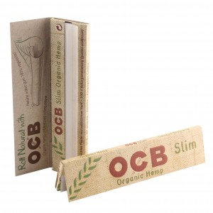 OCB Organic Hemp King Size Slim Papers, Heftchen einzeln