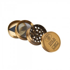 Champ High Gold Grinder 4-teilig 50 mm