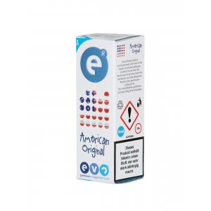 eVo American Original 10 ml (3 mg Nikotin)