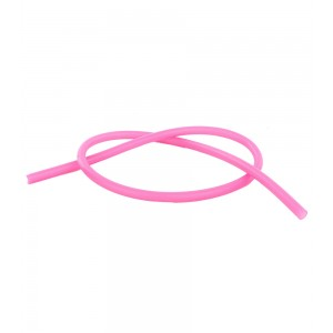 Silikon Shisha-Schlauch 150 cm, pink (Aladin)