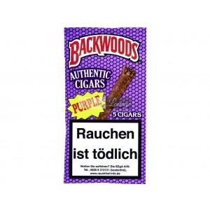 Backwoods® Purple Cigars Packung mit 5 Zigarren