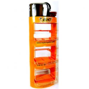 BIC Feuerzeug Aufsteller