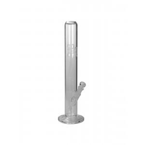 BLACK LEAF Zylinder Glasbong transparent