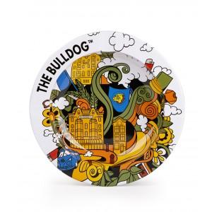 The Bulldog Metallascher Tin Funky Cartoon