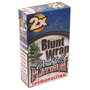 Blunt Wrap Double Platinum COSMOPOLITAN 25 x 2 Box