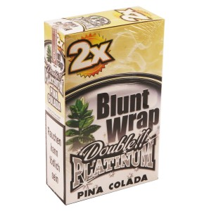 Blunt Wrap Double Platinum PINA COLADA 25 x 2 Box