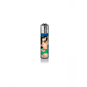 CLIPPER Feuerzeug Mary Jane PinUps #3 - Blau