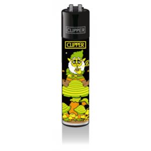 CLIPPER Feuerzeug Shrooms #3 - Yellow