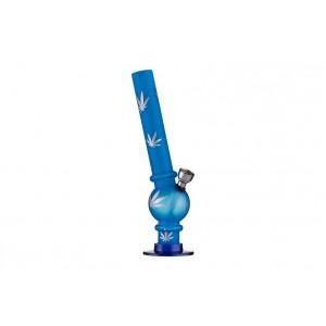 Dreamliner Acrylbong blau gefrostet, hanf