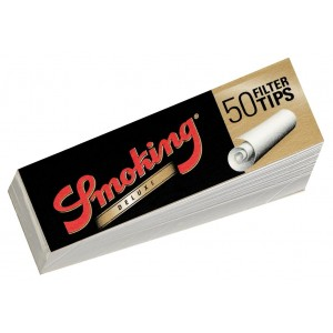 Smoking Medium Size 50er Filter Tips, Heftchen einzeln