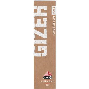 Gizeh Pure Extra Fine Papers King Size Slim, Heftchen einzeln