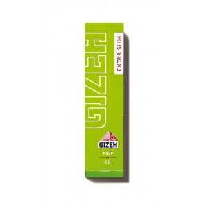 Gizeh Fine Extra Slim Papers grün, Heftchen einzeln