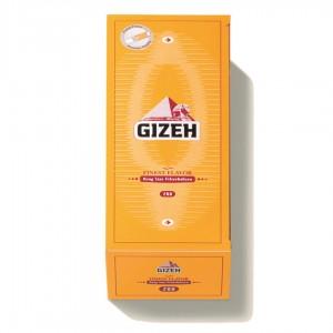 Gizeh Gelb Finest Flavor, 200 King Size Filterhülsen