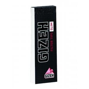 Gizeh Black King Size Slim Filter Tips, Heftchen einzeln