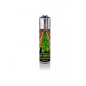 CLIPPER Feuerzeug Propaganja - Go Green
