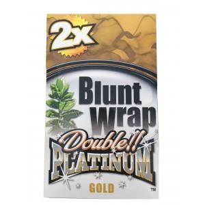 Blunt Wrap Double Platinum Gold 25 x 2 Box