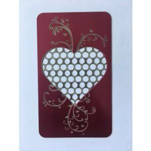 Credit Card Grinder Heart
