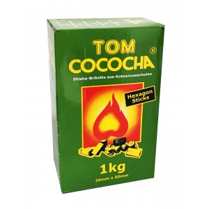 TOM Cococha Hexagon, 1 kg Kokoskohle