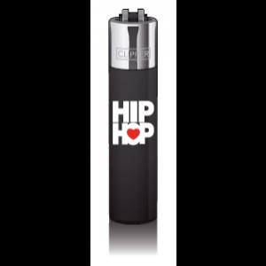 CLIPPER Feuerzeug Music Heart - HipHop