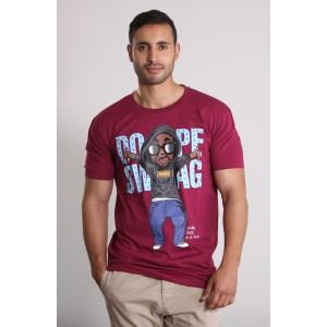PANUU Swagger Tee (burgund), T-Shirt
