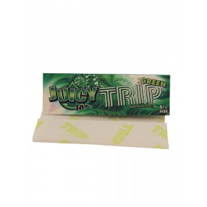 Juicy Jays Papers 1 1/4 TRIP Green, Heftchen einzeln