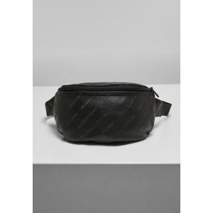 Urban Classics Leather Imitation Hip Bag schwarz