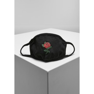 Mister Tee Rose Face Mask schwarz