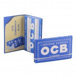 OCB Blau Express N°4 Papers mit Gummizug, Heftchen einzeln