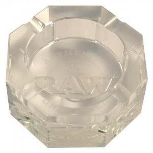 RAW Crystal Ashtray Aschenbecher, Glas