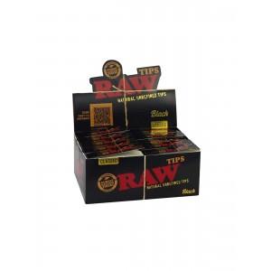 RAW Classic Black Tips, 50 er Box