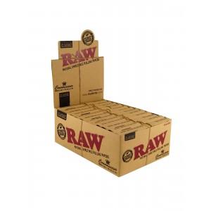 RAW Connoisseur King Size slim + prerolled Tips 24er Box