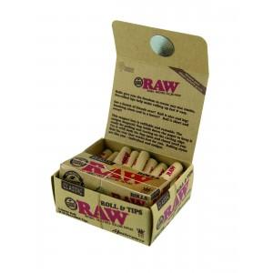 RAW Masterpiece Rolls mit Prerolled Tips, Packung einzeln