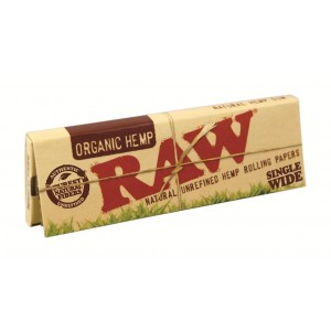 RAW Organic Single Wide Papers, Heftchen einzeln