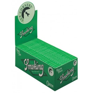 Smoking Regular Green Papers, 50er Box