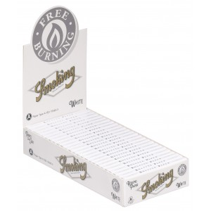 Smoking Regular White Papers, 25er Box
