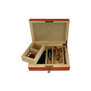 Rolling Supreme Wooden Rolling Box Large G4