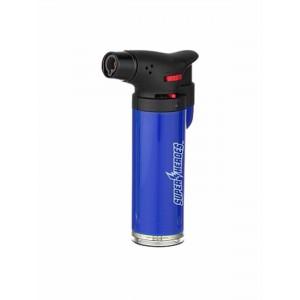 Super Heroes Torch-Feuerzeug mit blauer Flamme blau