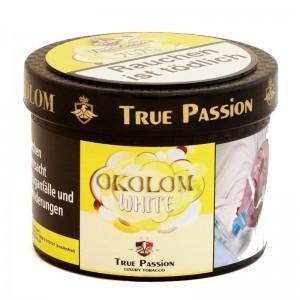 True Passion Okolom White Shisha Tabak 200 g Dose inkl. Liquid 20 g