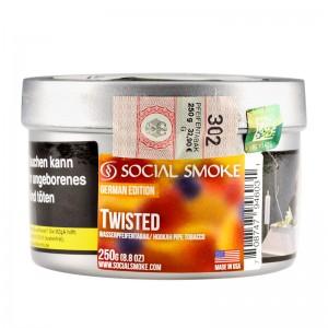 Social Smoke Shishatabak 250 g TWISTED