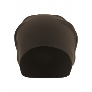 MasterDis Jersey Beanie braun (L/XL)