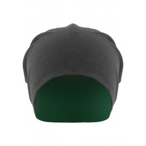 MasterDis Jersey Beanie reversible grau/grün