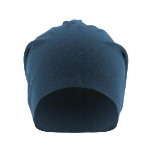 MasterDis Heather Jersey Beanie blau