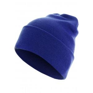 MasterDis Beanie Basic Flap Long Version royalblau