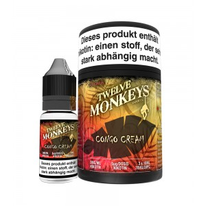 12Monkeys E-Liquid CONGO CREAM 3 x 10 ml