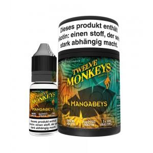 12Monkeys E-Liquid MANGABEYS 3 x 10 ml