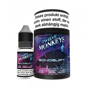 12Monkeys E-Liquid BONOGURT 3 x 10 ml